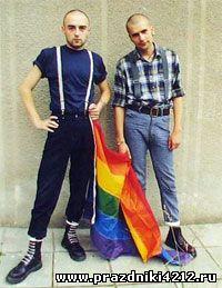 Скинхеды отметят день рождения Гитлера гей-парадом.